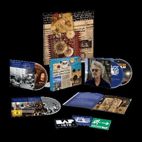 √Alles Fliesst - Geburtstagsedition (Ltd. Deluxe  + Leinwand) von Niedeckens BAP -  jetzt im Niedeckens BAP Shop