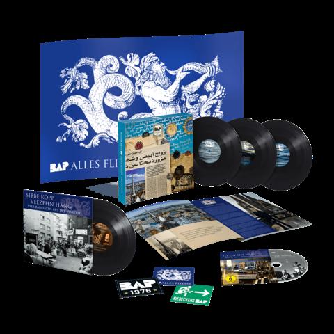 √Alles Fliesst - Geburtstagsedition (Ltd. Vinyl + Flagge) von Niedeckens BAP -  jetzt im Niedeckens BAP Shop