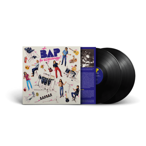 Für Usszeschnigge by BAP - 2LP (Gatefold 180gr) - shop now at Niedeckens BAP store