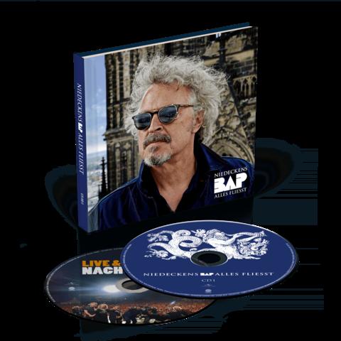 √Alles fliesst (Ltd. Deluxe Hardcoverbuch inkl. Bonus Live CD) von Niedeckens BAP - 2CD jetzt im Niedeckens BAP Shop