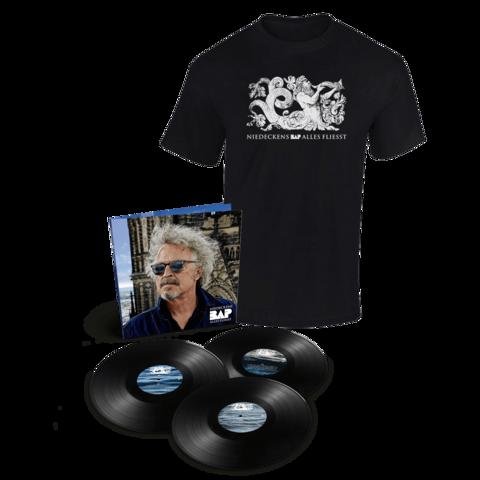 √Alles fliesst (3LP inkl. Bonus Live LP + T-Shirt, Gr. XL) von Niedeckens BAP - lp bundle jetzt im Niedeckens BAP Shop